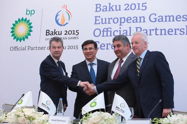 Baku 2015 have signed up BP as an official sponsor of the first ever European Games ©Baku 2015