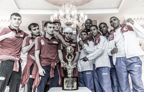 Home side Baku Fires will take on Cuba Domadores in the final of the World Series of Boxing ©WSB