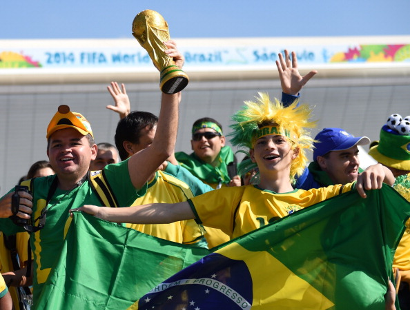 Brazil are favourite to win their sixth World Cup ahead of the tournament kicking off today ©AFP/Getty Images