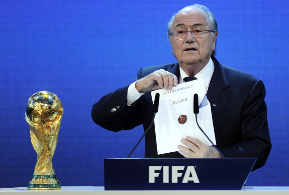 Britain have long had a fractious relationship with FIFA as shown by the failure of the England 2018 bid for the FIFA World Cup ©AFP/Getty Images