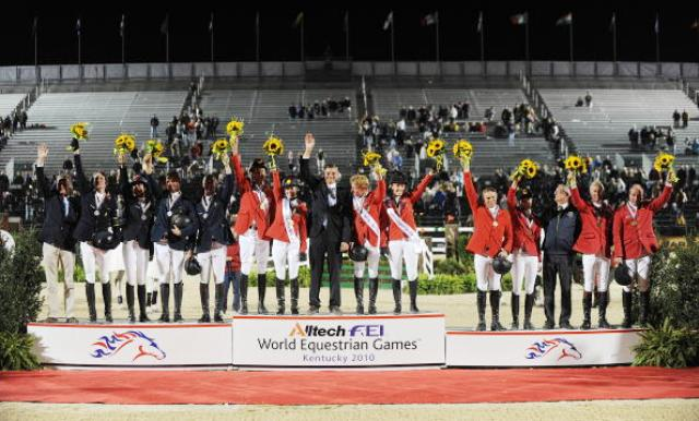 Bromont/Montreal will be only the second non-European host of the World Equestrian Games in the event's history ©AFP/Getty Images