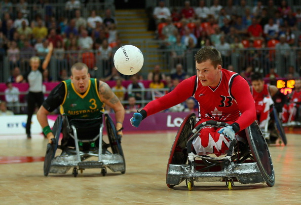 Canada is set to host the 2014 Canada Cup wheelchair rugby tournament on Thursday ©Getty Images