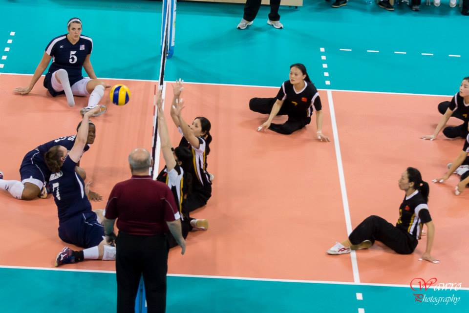 China defeated the US to successfully defend their world title ©World ParaVolley/Wawro Photography