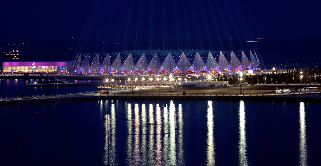 Crystal Hall, built for the Eurovision Song Contest in 2012, will be among the venues to be used for the 2015 European Games ©Getty Images