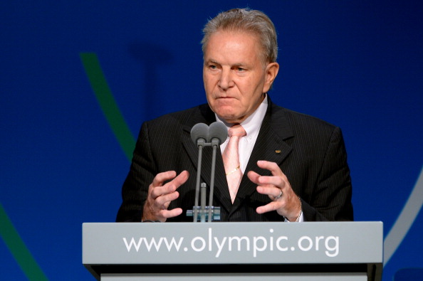 Denis Oswald encouraged European cities such as Paris to launch a bid for 2024 ©AFP/Getty Images