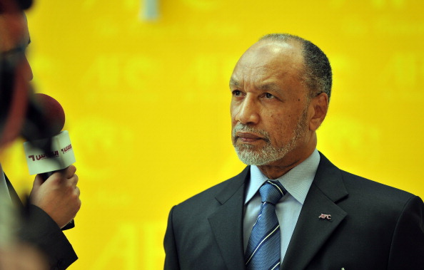 Disgraced Mohamed Bin Hammam is at the centre of fresh allegations over how Qatar's bid for the 2022 World Cup was won ©AFP/Getty Images