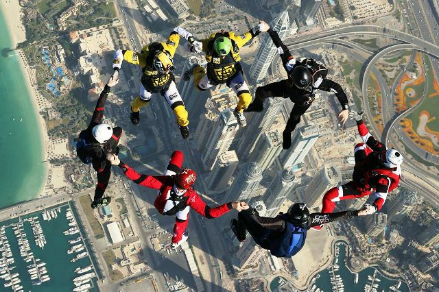 Dubai will provide a spectacular backdrop for athletes as they compete at next year's World Air Games ©FAI
