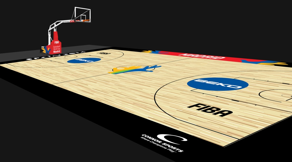 FIBA has revealed the unique court designs for the 2014 Basketball World Cup in Spain ©FIBA