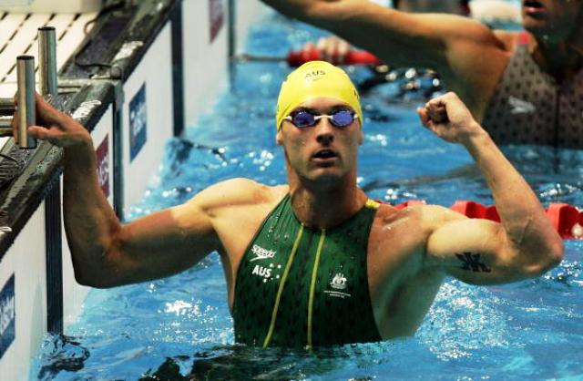 Former Australian Olympian Brett Hawke is now head coach of the Auburn University swimming programme ©Getty Images