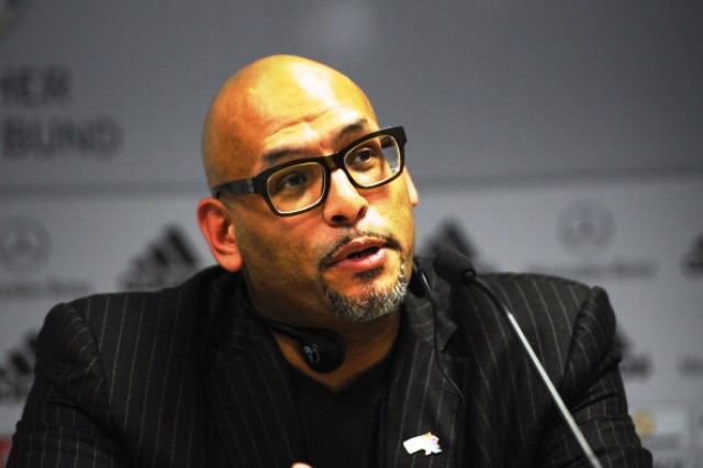Former NBA player John Amaechi will be one of the speakers at the Beyond the Games summit in Glasgow next month ©Bongarts/Getty Images