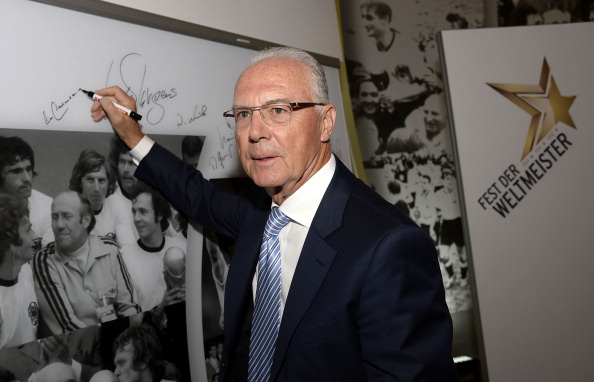 Franz Beckenbauer has been provionally banned from any football-realted activites ©Getty Images