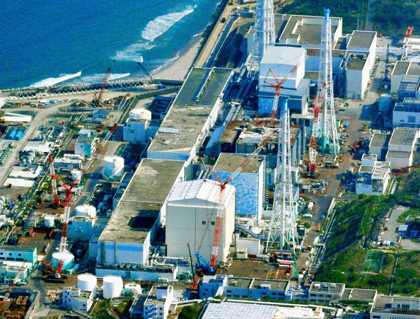 Three of the six reactors were damaged at the Fukushima Daiichi Nuclear Plant following the tsunami and earthquake in March 2011 ©The Asahi Shimbun/Getty Images