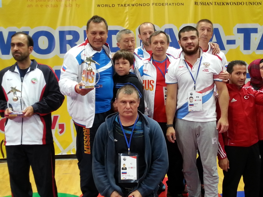 Hosts Russia walked away with the highest medal tally at the World Para-Taekwondo Championships with 15, including four gold ©ITG