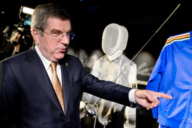 IOC President and Montreal 1976 gold medal winner Thomas Bach set up the Steiner Commission when he was in charge of the DOSB ©AFP/Getty Images