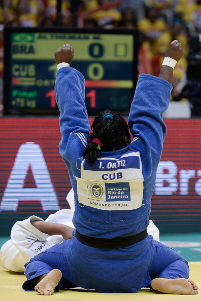 Idalys Ortiz will surely prove to be a crowd favourite on home turf as the Olympic and world champion launches her bid for Rio 2016 qualification ©Getty Images