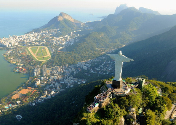 It is hoped the Torch Relay will illustrate the beauty of Rio and the rest of the world ©Getty Images