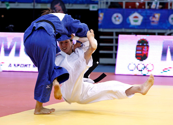Japan took four of seven gold medals on day one of the Budapest Judo Grand Prix ©IJF