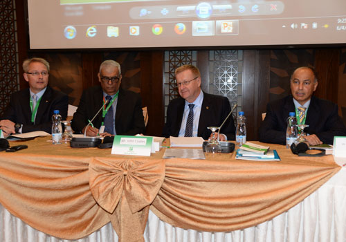 John Coates has opened the Sport Arbitration Forum for Oceania, African and Asian National Olympic Committees in Kuwait City ©OCA