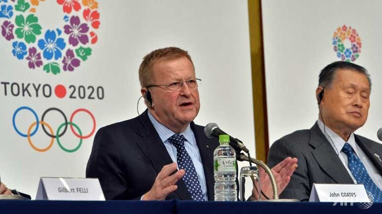 IOC vice-president John Coates has warned Tokyo 2020 that any changes to its venues must get the backing of the International Federations ©AFP/Getty Images