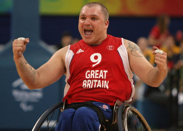 Jon Pollock won two Paralympic bronze medals, competing at four Games before retiring after London 2012 ©Getty Images