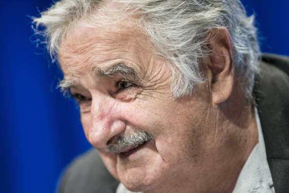 "José Mujica has branded FIFA officials as ""sons of bitches"" for banning Luis Suárez ©Getty Images"