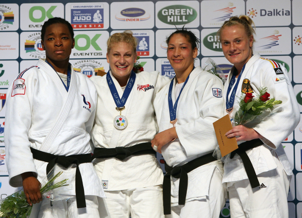 Kayla Harrison returned from a year-long injury to take gold at the Havana Grand Prix ©IJF