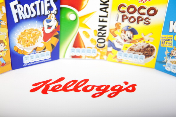 Kellogg's has been named the official provider of cereal snacks for the 2014 Commonwealth Games in Glasgow ©Newscast/UIG via Getty Images