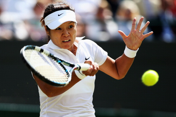 Li Na has crashed out of Wimbledon after a third round loss to Barbora Zahlavova-Strycova ©Getty Images