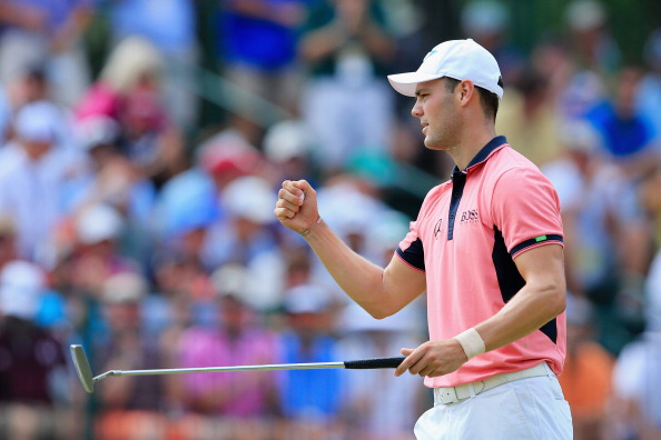 Martin Kaymer held his nerve to take a five-shot lead into the final day of action at the US Open ©Getty Images