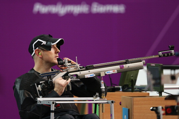 Michael Johnson will lead three New Zealand Para-shooters to next month's IPC Shooting World Championships in Germany ©Getty Images