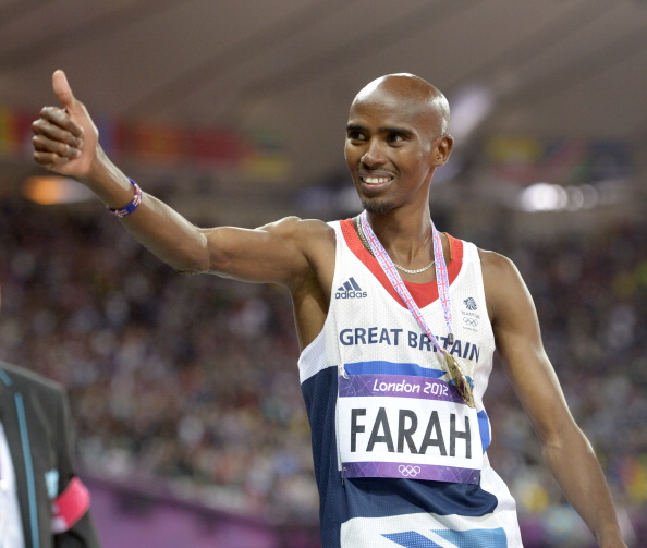 Mo Farah will seek the 5,000 and 10,000m titles at the Glasgow 2014 Games ©Getty Images