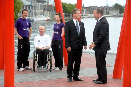 Mondelēz and Paralympics Ireland announced a new three-year sponsorship deal in Dublin today ©Paralympics Ireland