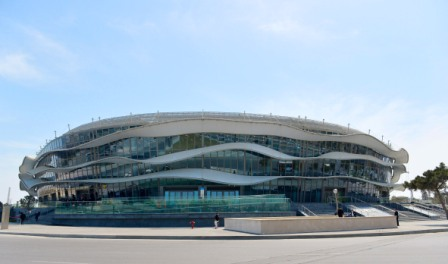 The news follows the completion of various venues for Baku 2015, including the iconic National Gymnastics Arena ©Broadway Maylan
