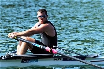 New Zealand's Joseph Sullivan has decided to swap the oars for the fire hose after retiring from rowing to join the New Zealand Fire Service ©Getty Images