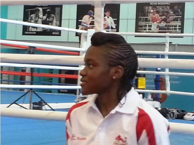 Nicola Adams will lead the Team England medal charge in the boxing ring at Glasgow 2014 ©ITG