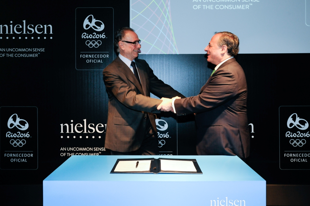Nielsen has been named the official market research supplier for the Rio 2016 Olympic and Paralympic Games ©Rio 2016