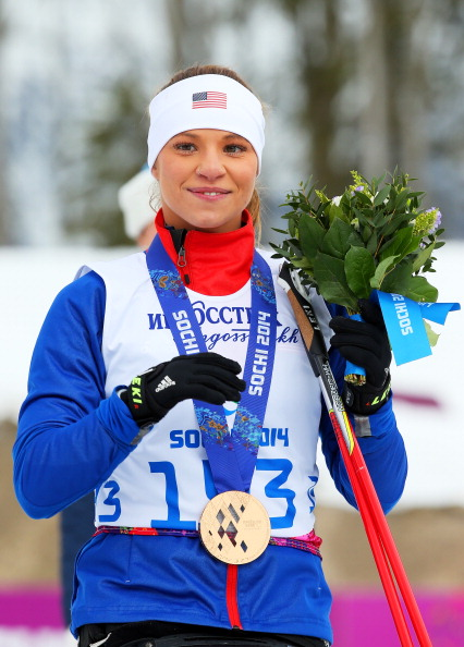 Oksana Masters is the sole athlete in the National A Team after her silver and bronze medals at Sochi 2014 ©Getty Images