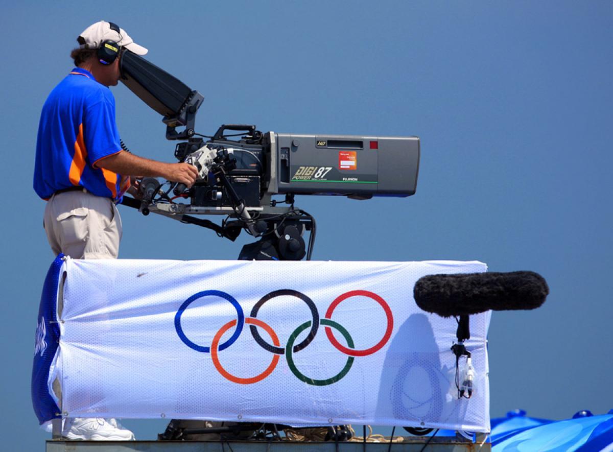 Olympic cameraman