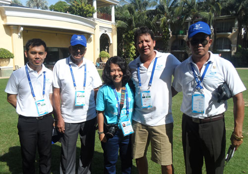 Chefs de Mission from 45 countries took part in the seminar for the 4th Asian Beach Games, which is due to take place in Phuket in November, ©OCA