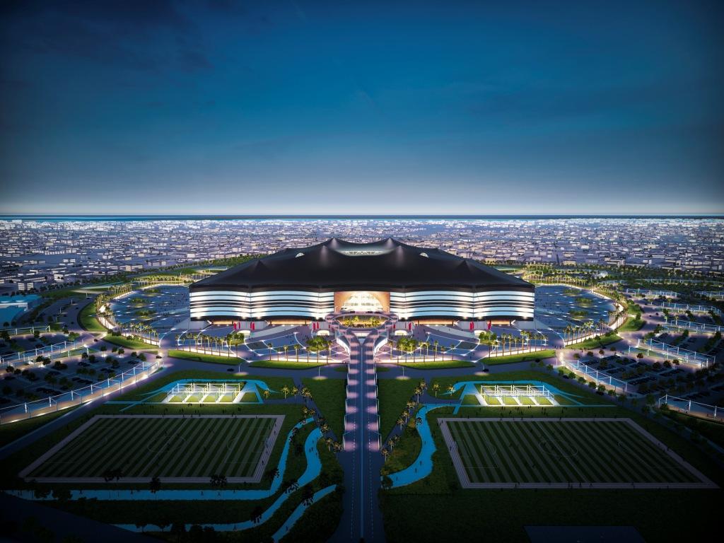 Qatar has unveiled designs for the new Al Bayt Stadium in Al Khor ©Qatar2022