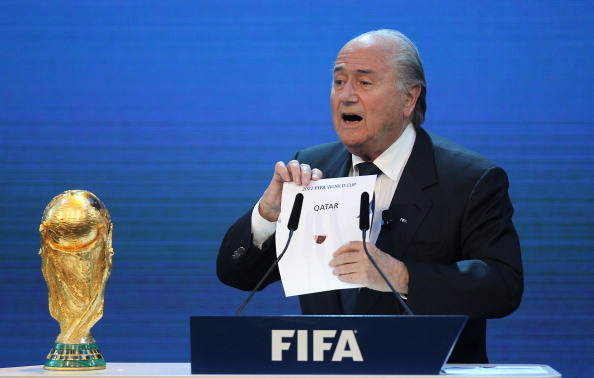 Qatar won the right to stage the 2022 World Cup in a cloud of controversy in December 2010 ©AFP/Getty Images