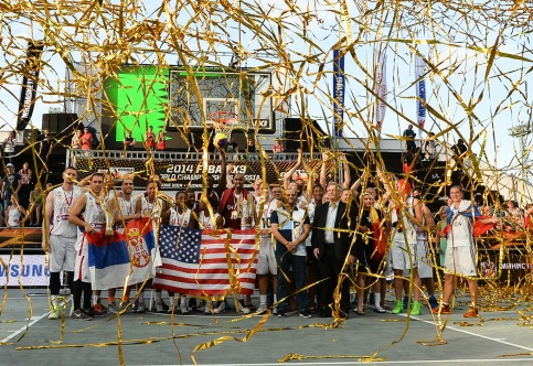 Qatar's men and the US women have secured the 3x3 basketball world titles ©FIBA