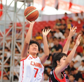 Reigning women's basketball 3x3 Youth Olympic champions China are to face world silver medallists Estonia at Nanjing 2014 ©IOC