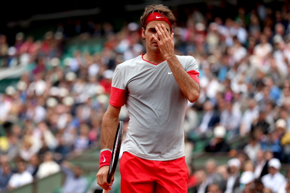 Roger Federer has taken an early exit from the French Open as he lost in five set to Ernests Gulbis ©Getty Images