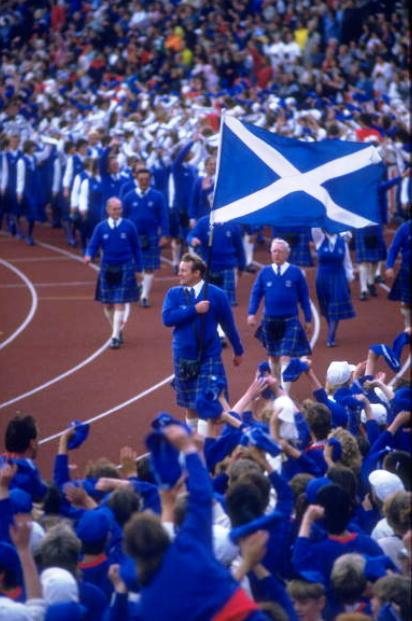 Scotland is targeting its best ever medal haul next month since it hosted the Games in Edinburgh in 1986 ©Getty Images