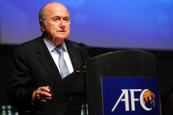 Sepp Blatter said that a vote to decide the validity of the World Cup bids would take place in September or October ©FIFA via Getty Images