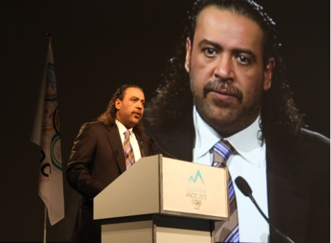 Sheikh Ahmad Al-Fahad Al-Sabah has been leading the drive to make ANOC a more modern and outward thinking organisation since he took over as President ©OCA