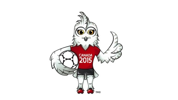 Shuéme, a young female great white owl, has been unveiled as the official mascot for next year's FIFA Women's World Cup ©FIFA