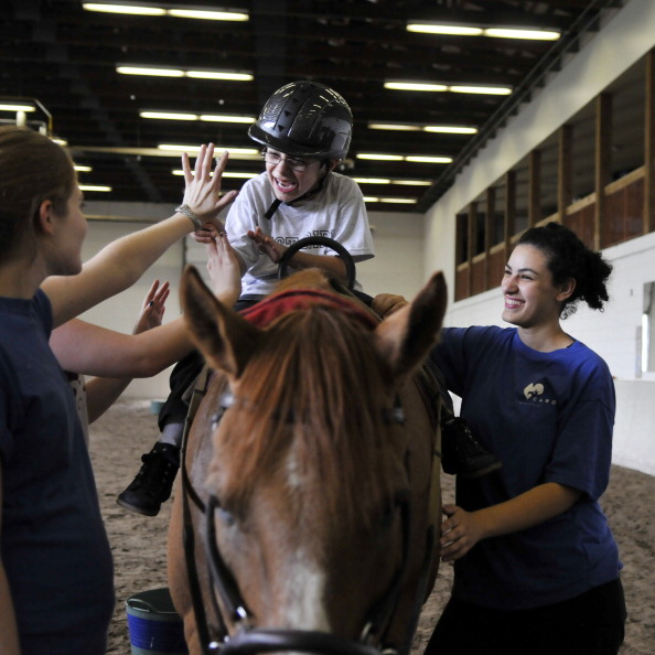 Sport England has donated £200,000 to six equestrian centres across the UK ©Toronto Star/Getty Images