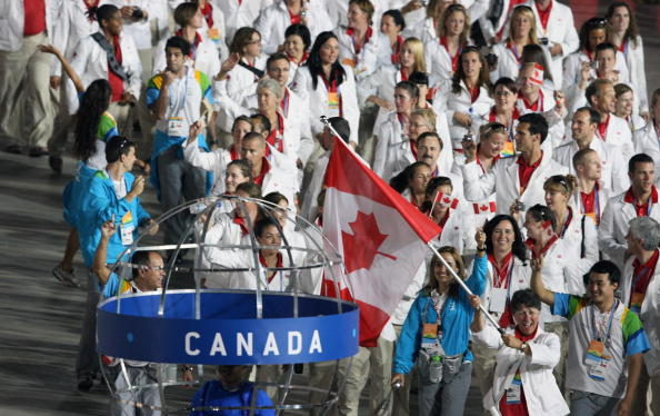Susan Nattrass was also Canada's Flagbearer at the 2007 Pan American Games in Rio de Janeiro ©Getty Images